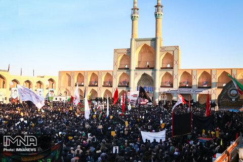 مراسمات عزاداری شهادت سردار دلها در یزد