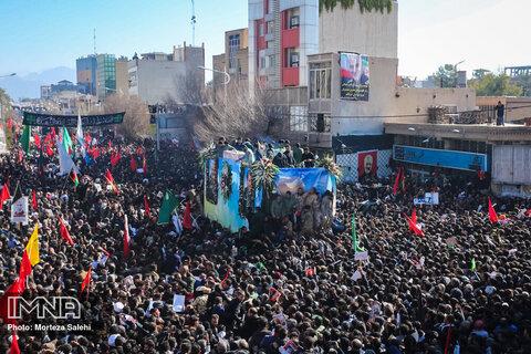 Kerman pays homage to Lieutenant General Qassem Soleimani