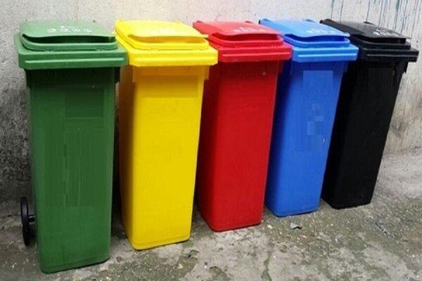 اهدای رایگان مخازن تفکیک زباله به دفاتر تسهیلگری و فرهنگسراها