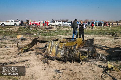هواپیما اوکراین دچار آتش سوزی شد نه انفجار/ ادعاهای کذب برای جلوگیری از ضرر بوئینگ است