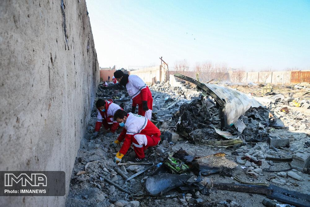 بیانیه بازخوانی حادثه هواپیمای اوکراینی صادر شد