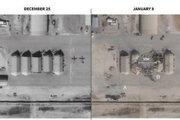 انتشار تصاویر ماهوارهای از حمله موشکی موفقیتآمیز سپاه به پایگاه عینالاسد