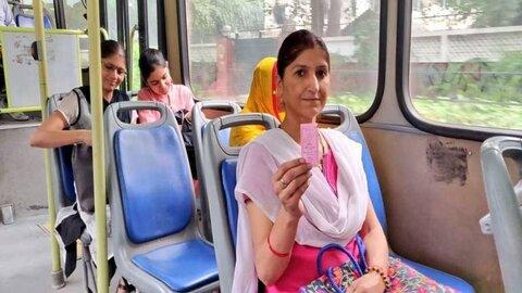 حمل و نقل عمومی برای زنان در دهلی رایگان میشود