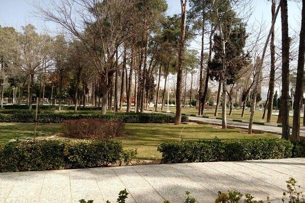ساماندهی پارکها و پیادهروسازی در منطقه ٩