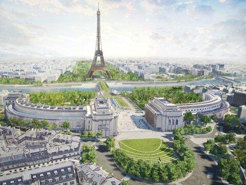 بزرگترین مزرعه شهری جهان بر بامهای پاریس