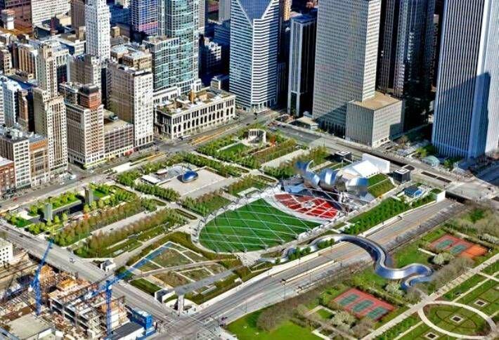 مزارع موادغذایی بر فراز بامهای شهری