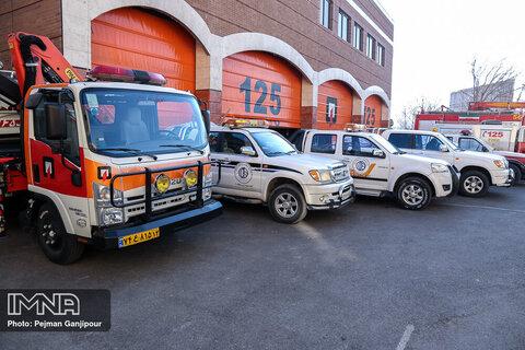 دو خودروی اطفای حریق به آتش نشانی کرمانشاه اضافه شد