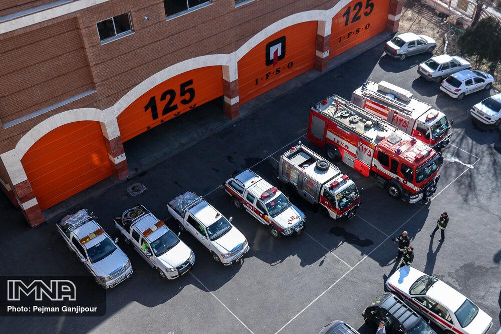 از خرید ٢١ نردبان تا استفاده از دو پهپاد در عملیاتهای آتشنشانی تهران