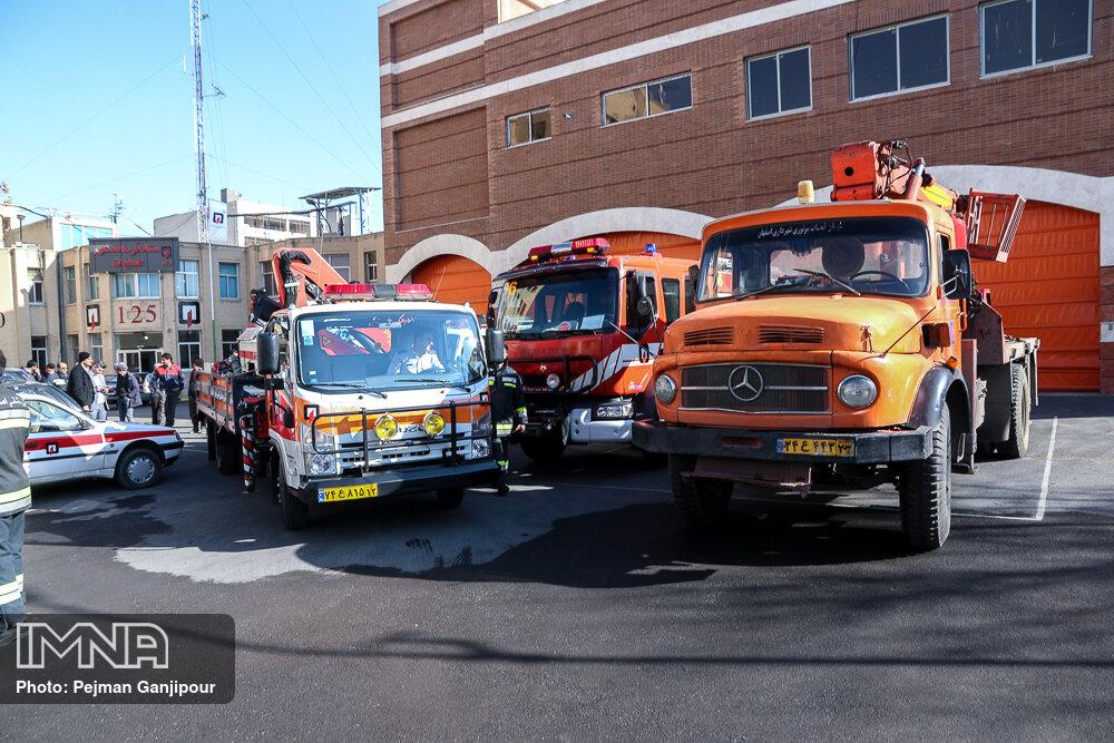 ایستگاه شماره ۴ آتش نشانی اصفهان بازسازی میشود