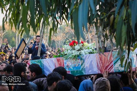 گزارشی از تشییع شهدای سقوط هواپیمای اوکراین در اصفهان