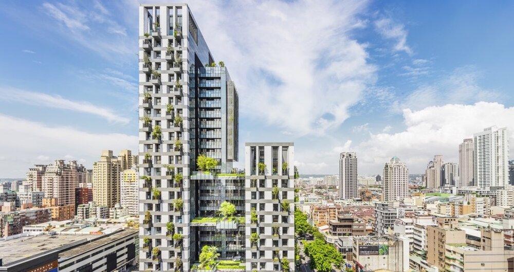برجهای سبز تایچونگ؛ راهی به سوی پایداری شهری