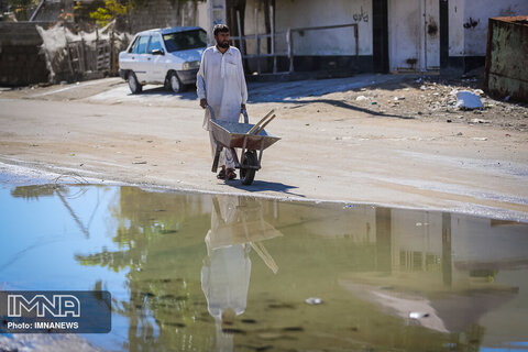 Isfahan breathe new life into flood wrecked Sistan