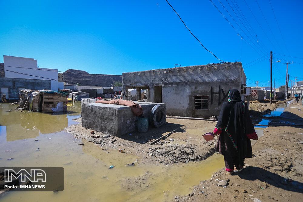 آخرین وضعیت مناطق سیل زده استان اصفهان