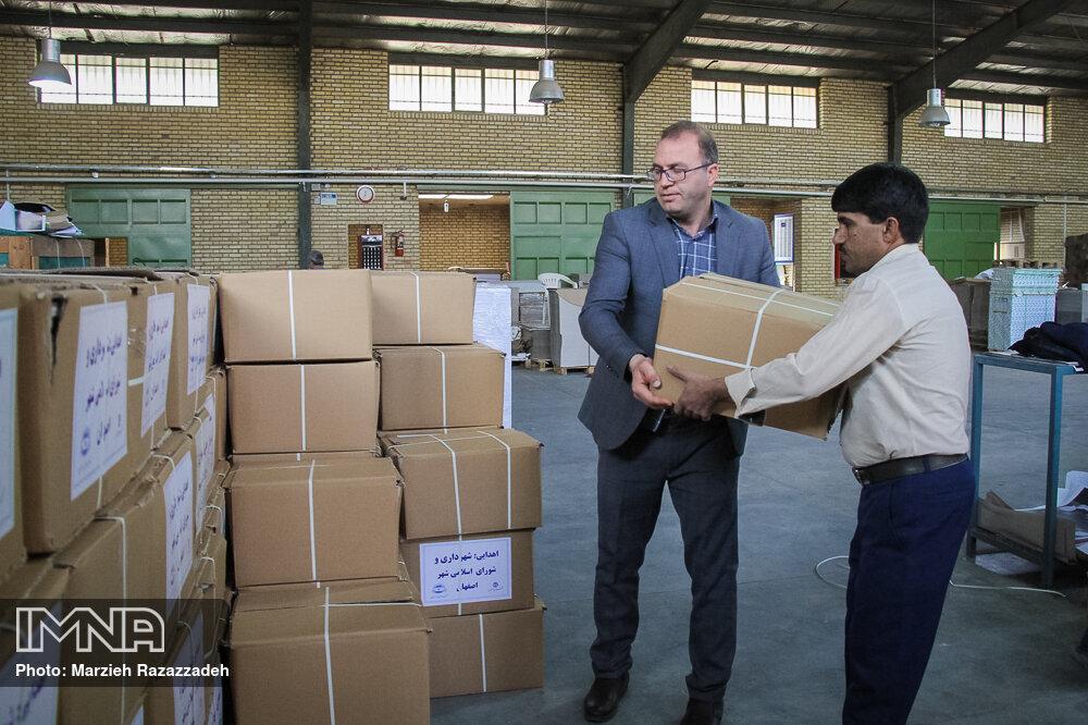کمکهای غیرنقدی مردم برای پیشگیری از کرونا به ۳۷۶ میلیارد ریال رسید