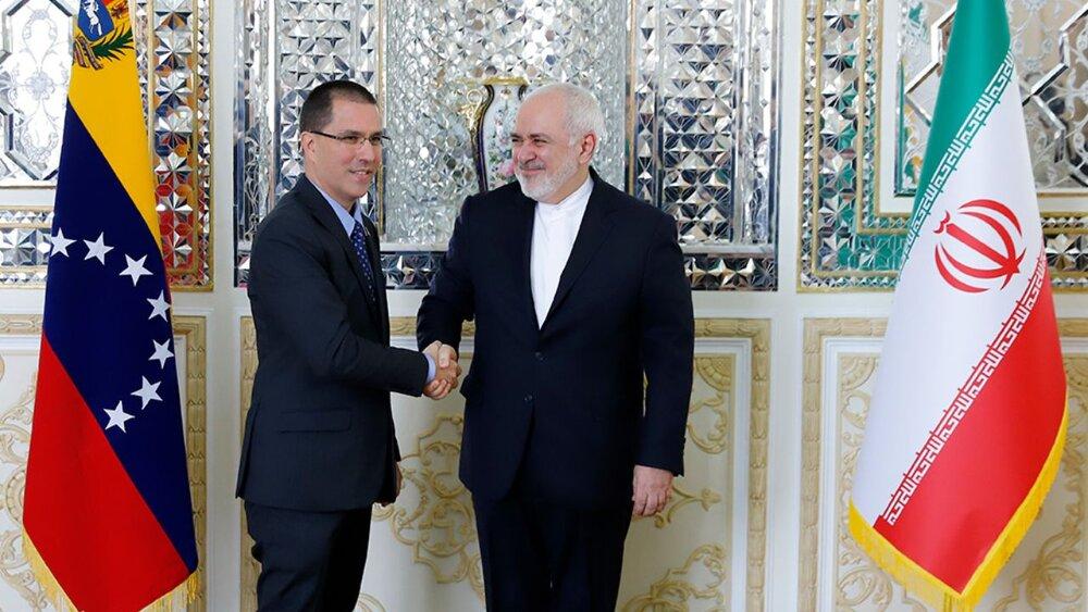 ظریف و وزیر امور خارجه ونزوئلا در «تهران» رایزنی کردند