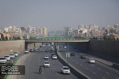 شاخص کیفی هوای اصفهان به ۱۷۵ رسید