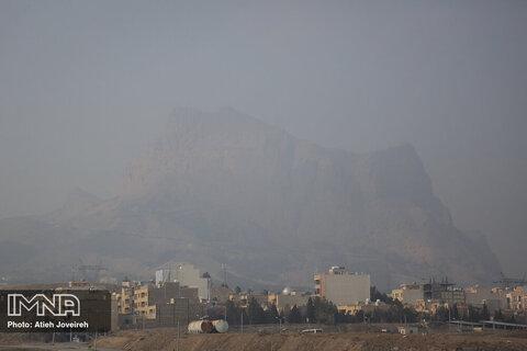 در اصفهان، تنها هوای سجزی در وضعیت سالم است
