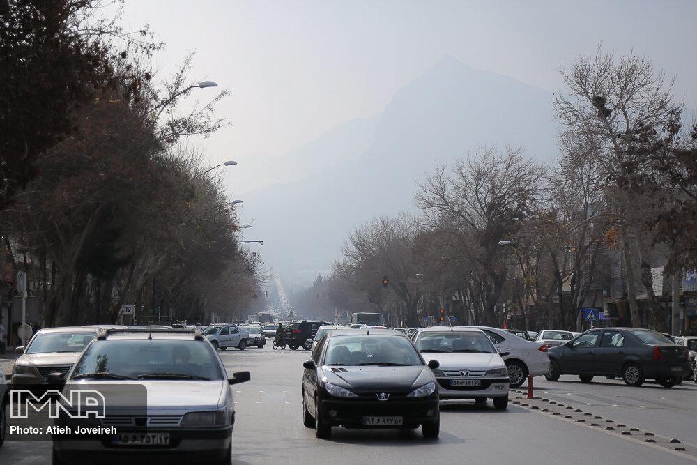 آلودگی هوای اصفهان وارد هجدهمین روز شد
