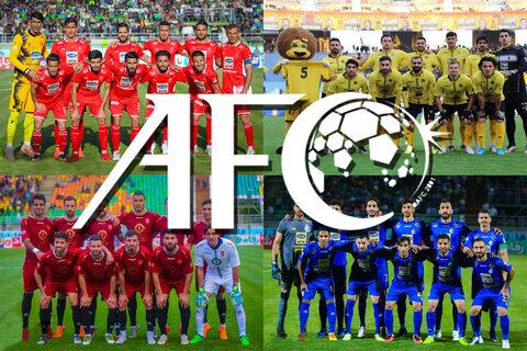جایگاه نمایندگان ایرانی در پایان هفته سوم لیگ قهرمانان آسیا