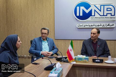 بازدید رییس شورای شهر اصفهان از ایمنا