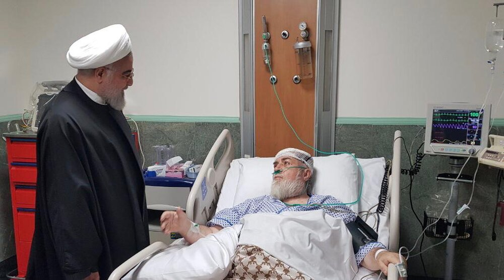 رئیس جمهور از حجتالاسلام والمسلمین شهیدی عیادت کرد