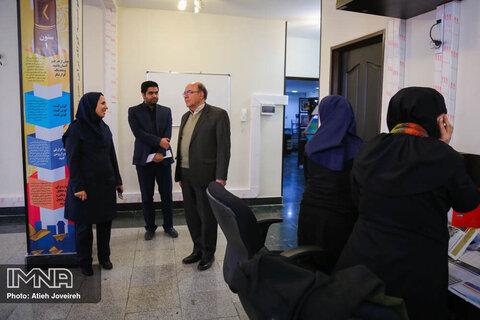 بازدید رییس سازمان نظام مهندسی ساختمان اصفهان از ایمنا