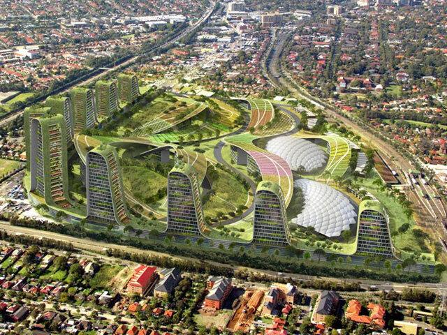 دهکده جدید شهری در استرالیا