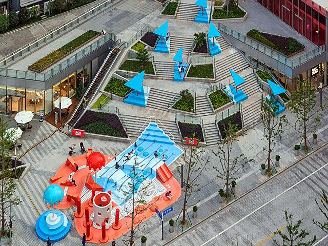 افزایش نشاط شهروندی با خلاقیت شهری در شانگهای