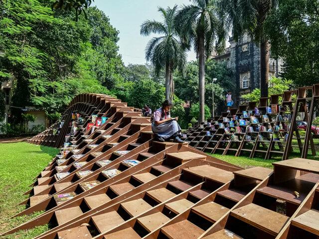کتابخانههای سبز؛ راهی برای مبارزه با بیسوادی در هند