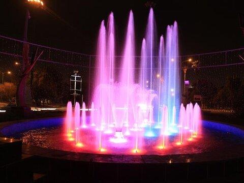 احداث سه آبنما در محوطه باغ ایرانی آبیدر سنندج