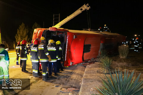 شناسایی اجساد تصادف اتوبوس تهران- شیراز+ اسامی