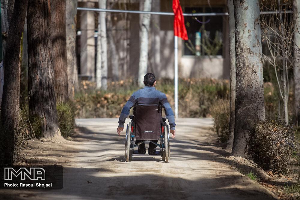 حضور ورزشکاران پارالمپیکی تهران در رزمایش مومنانه
