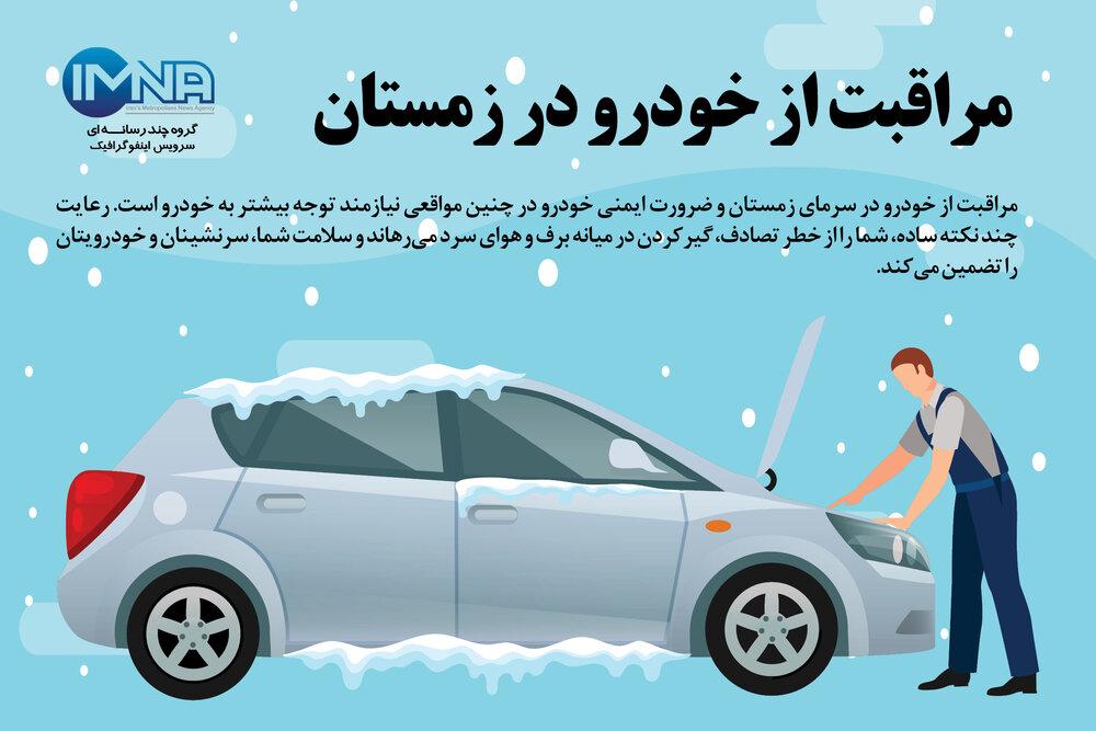 مراقبت از خودرو در زمستان