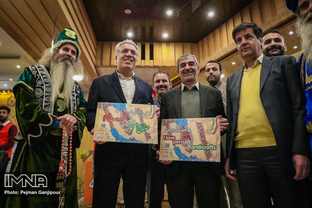 سفر وزیر میراث فرهنگی گردشگری و صنایع دستی به اصفهان