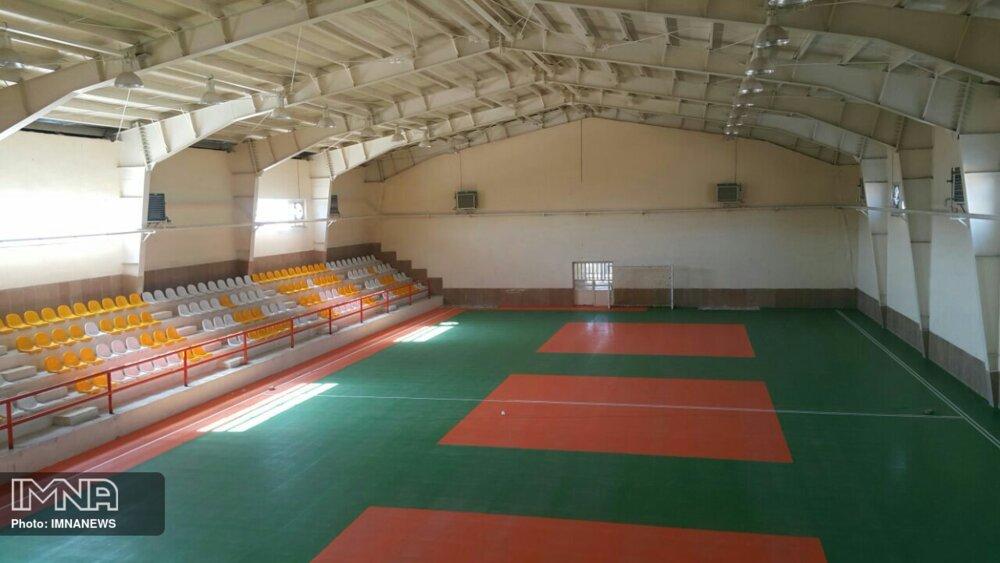 افزایش ۱۲ هزار مترمربع به فضاهای ورزشی خوی
