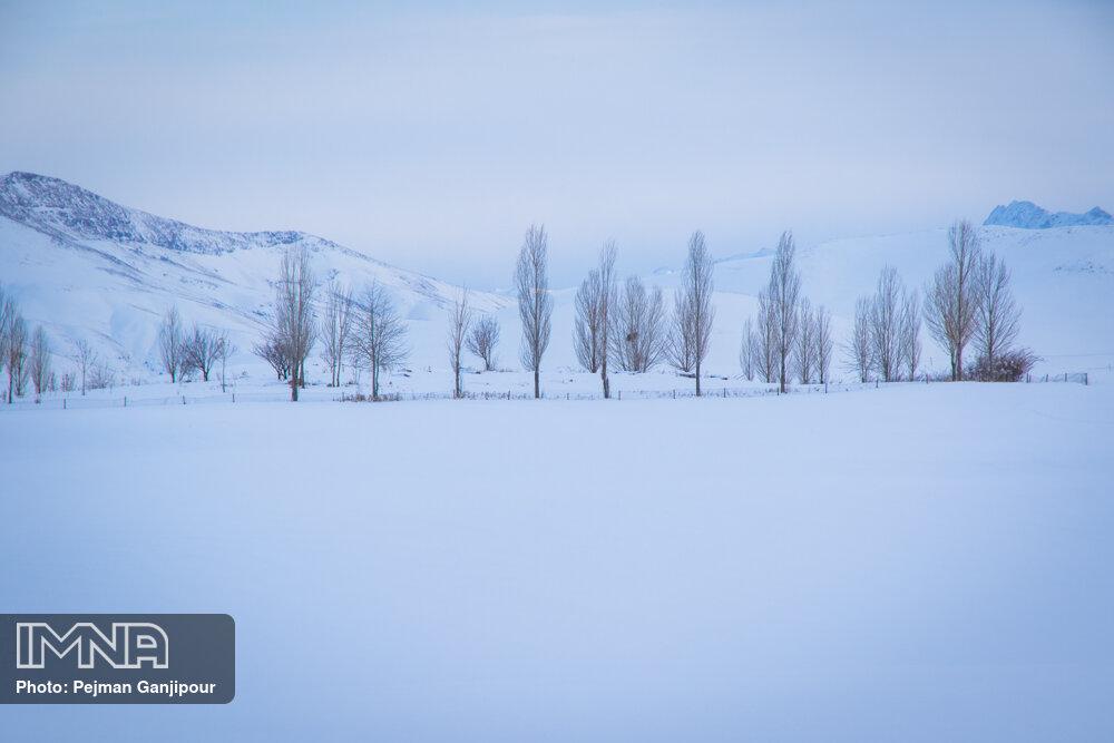 طبیعت برفی چادگان