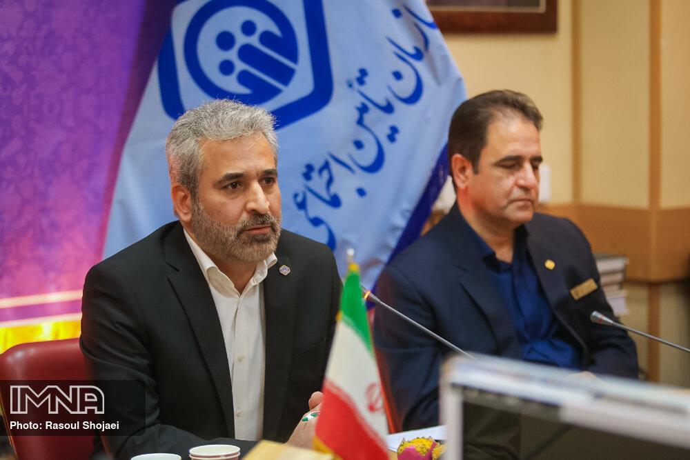 نشست خبری مدیر کل سازمان تامین اجتماعی استان