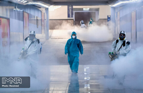 شیوع ویروس کرونا در جهان