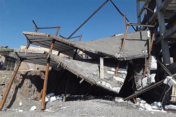 ساختمان ۶ میلیاردی غیر مجاز در سنندج تخریب شد