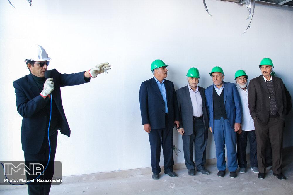 بازدید مدیران پیشین استان از پروژه های عمرانی