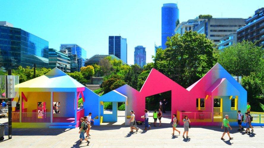 خلاقیت شهری در ونکوور به نفع عابران پیاده