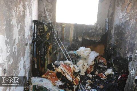 حال عمومی آتش نشان حادثه دیده رو به بهبودی است