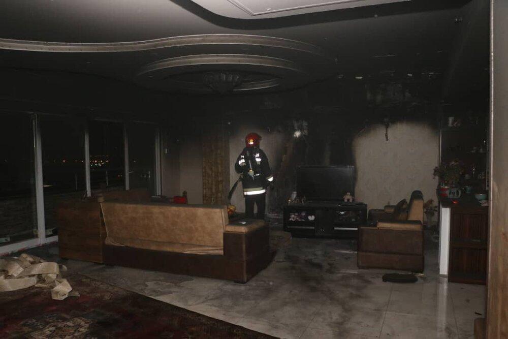 انفجار منزل مسکونی در خیابان رباط/مرد ۵۲ ساله مصدوم شد