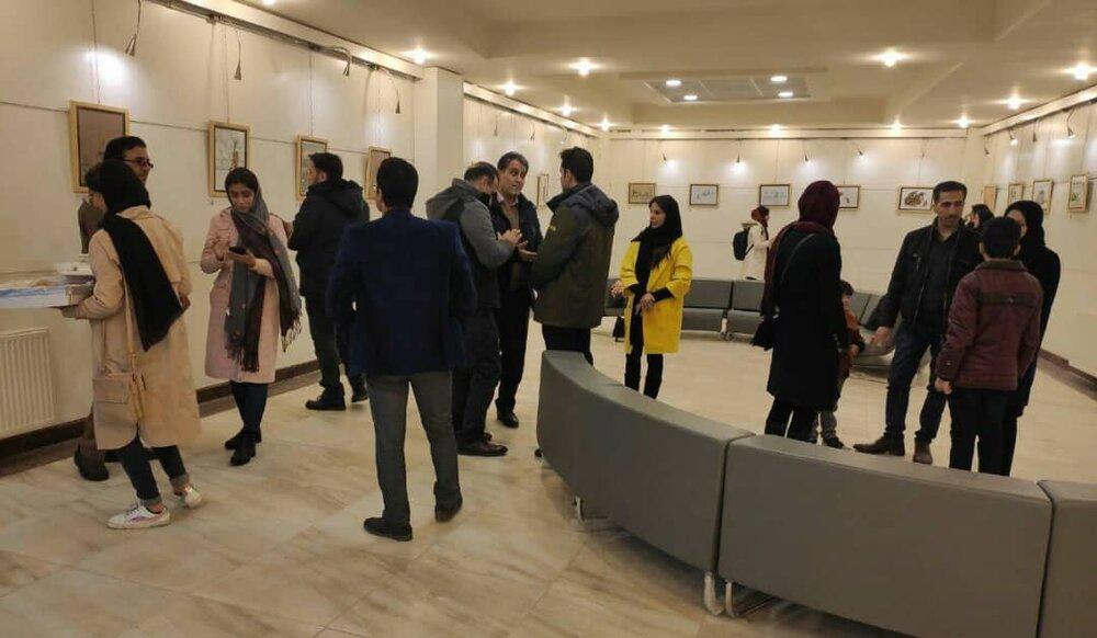 معرفی برگزیدگان نمایشگاه «محیط پاک با سبزقامتان نارنجیپوش» کرمانشاه