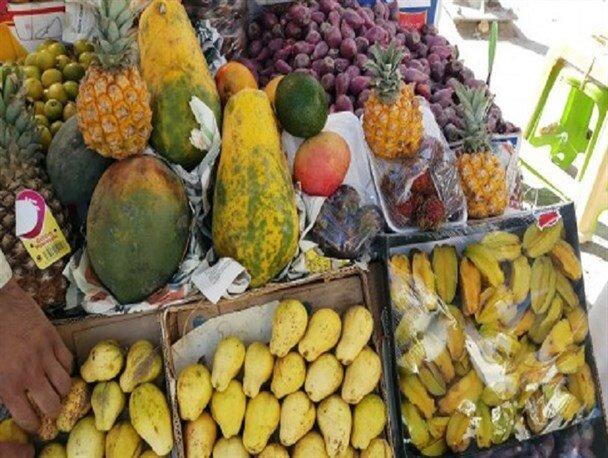 قیمت میوه و ترهبار در بازارهای کوثر امروز ۹ فروردین+جدول