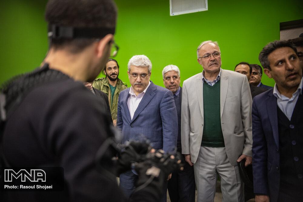 سفر معاون علمی فناوری رئیس جمهور به اصفهان