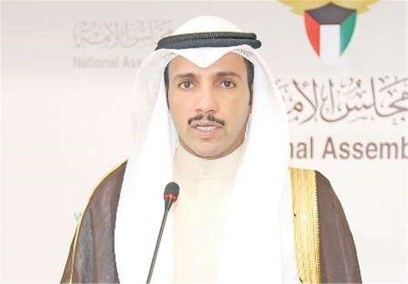 رئیس پارلمان کویت «معامله قرن» ترامپ را در زبالهدان انداخت+فیلم