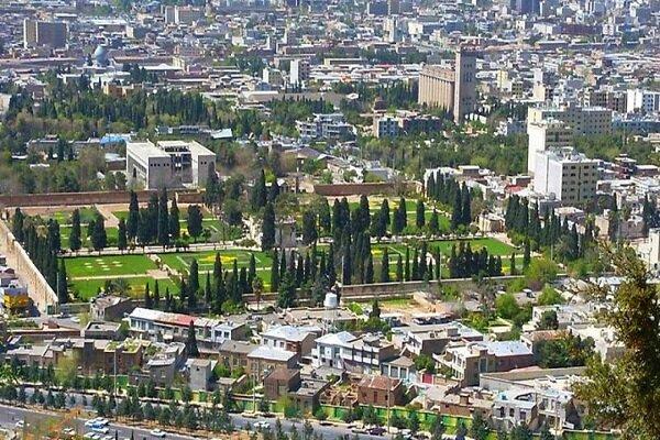 نصب مبلمان شهری بز املش در شیراز