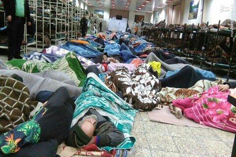 راه اندازی گرمخانه ۱۵۰ نفری در رفسنجان