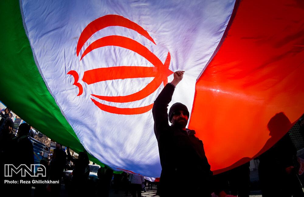 راهپیمایی ۲۲ بهمن در شهرستان های اصفهان